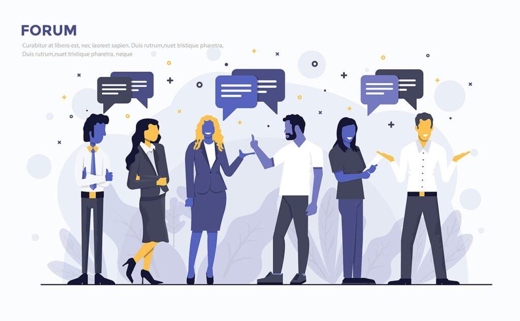 多场景应用主题扁平化插图创意设计Modern Flat design people and Business concepts 2插图(2)