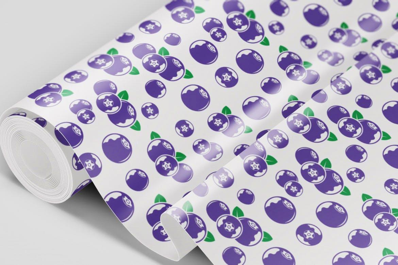 餐饮品牌包装装饰图案水果创意插画元素下载Natural Fruit Juices Seamless Patterns Vol 2插图(2)
