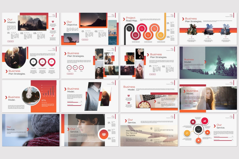 企业市场策划/企业年报汇报PPT幻灯片模板Rule Creative Keynote插图(2)
