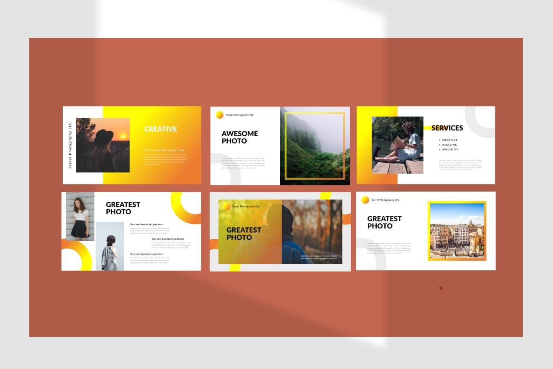 旅游主题品牌宣传PPT幻灯片模板Scret Google Slide插图(2)