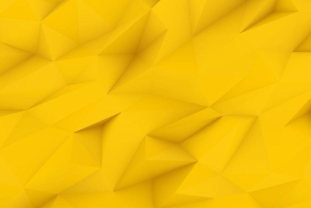 抽象简约几何构成背景高清图片下载Yellow Polygon Backgrounds插图(2)