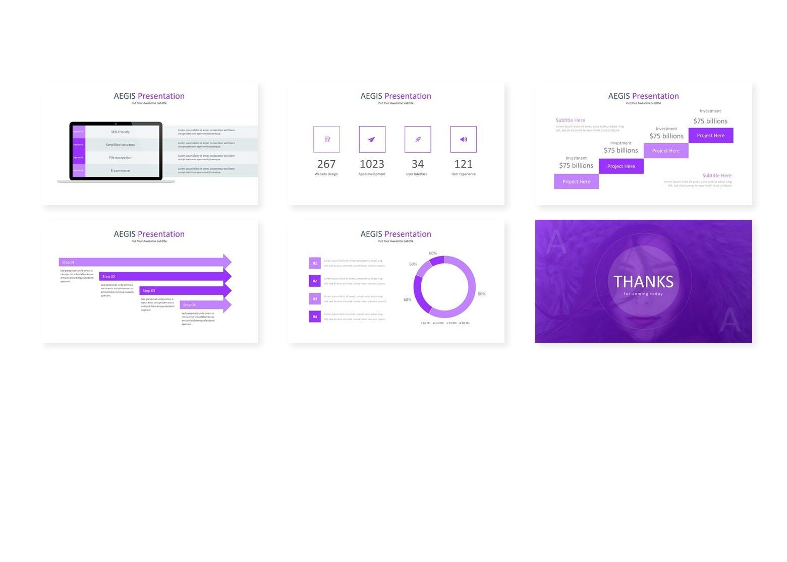 企业新产品市场调研提案PPT幻灯片模板下载Aegis Google Slides Template插图(3)