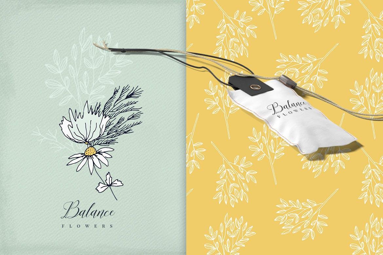 平衡花绿植品牌素材模板下载Balance Flowers插图(3)
