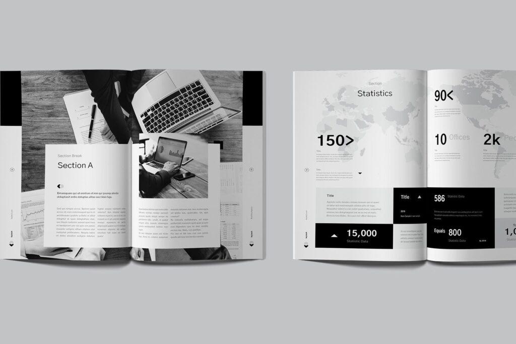 企业简介/产品介绍画册杂志模板素材Company Profile插图(3)