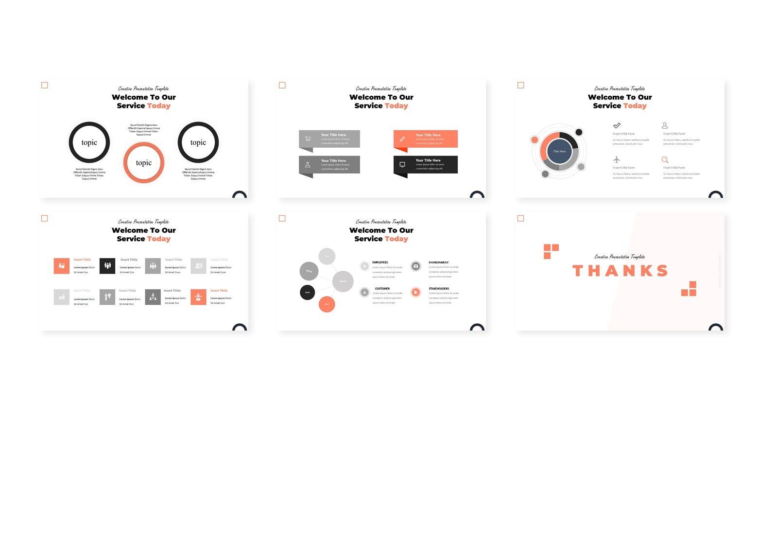 多用途的演示业务或个人需求PPT幻灯片模板Dorado Keynote Template插图(3)