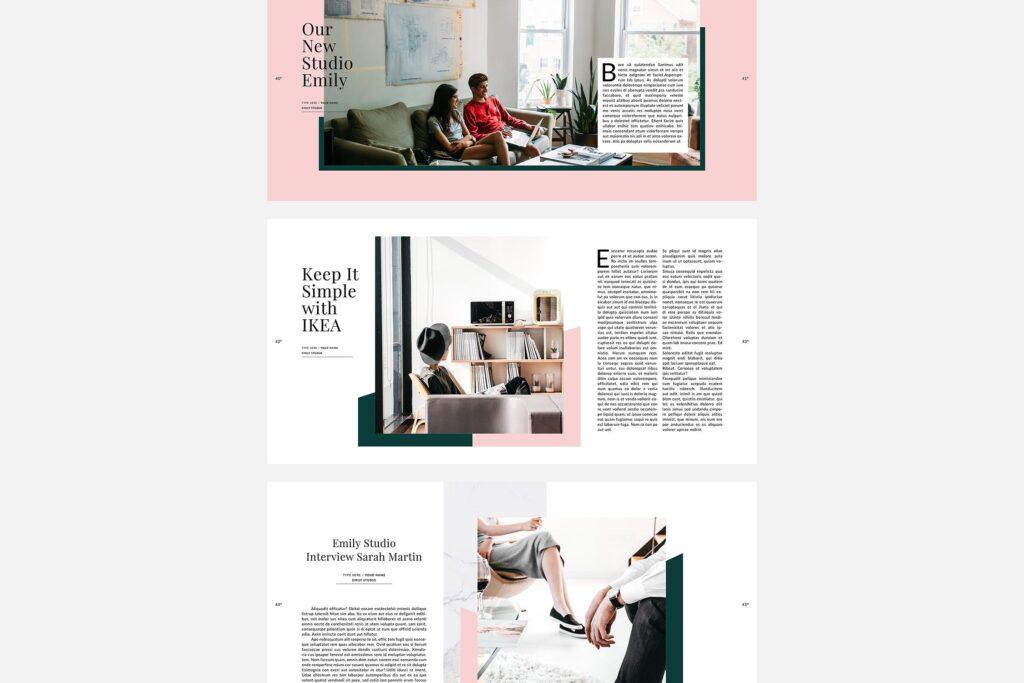 极简主义的时尚生活和旅游杂志Emily Magazine插图(3)