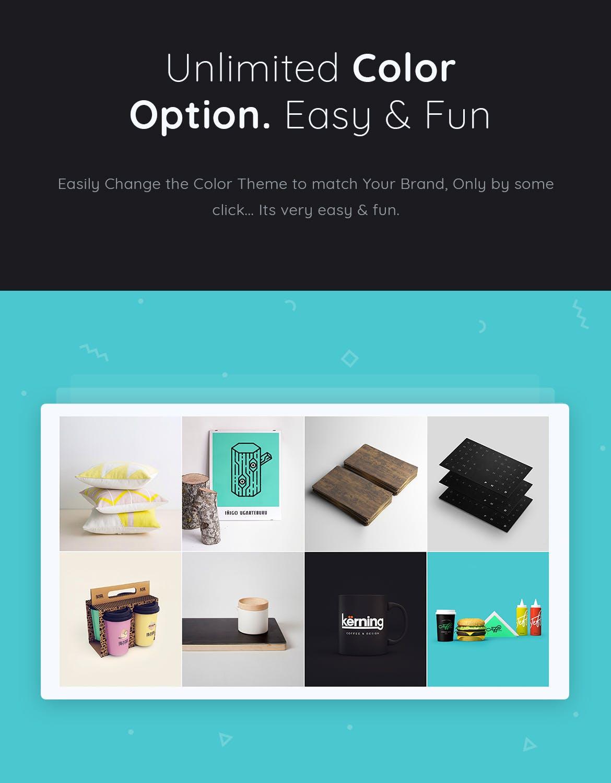 时尚潮流品牌电子商务幻灯片模板Fabros Creative Presentation Template (KEY)插图(3)
