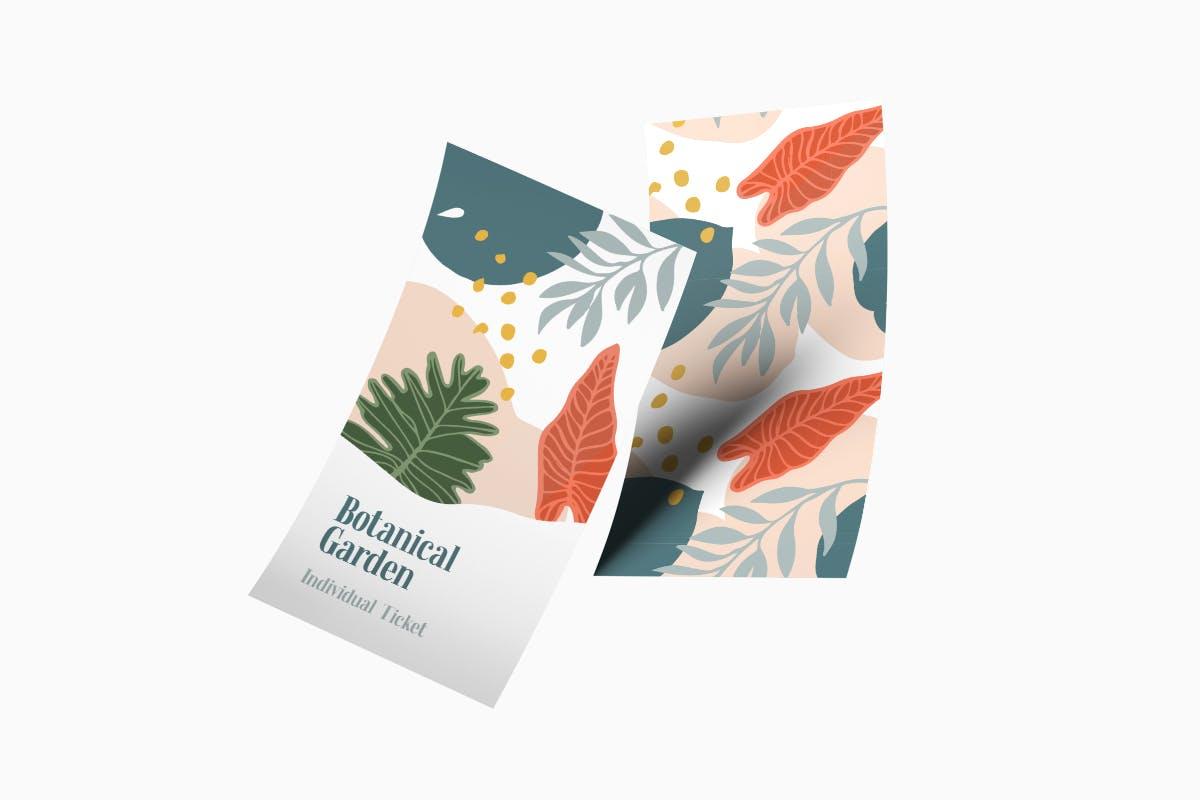 自然和花朵影响的艺术图案化妆品牌包装装饰图案Floral Backgrounds Patterns插图(3)