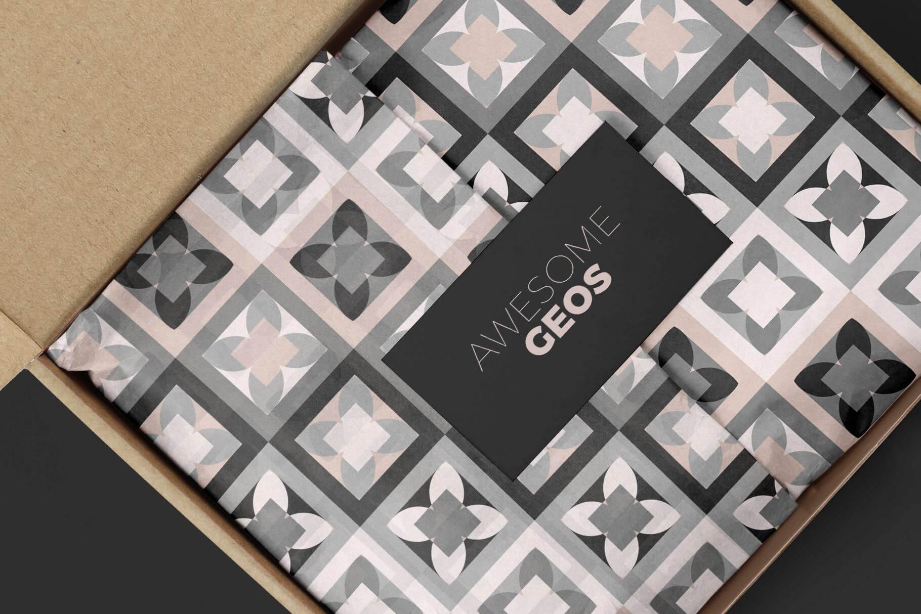 布艺面料装饰纹理图案花纹品牌辅助图形Geometric Play Patterns Tiles插图(3)