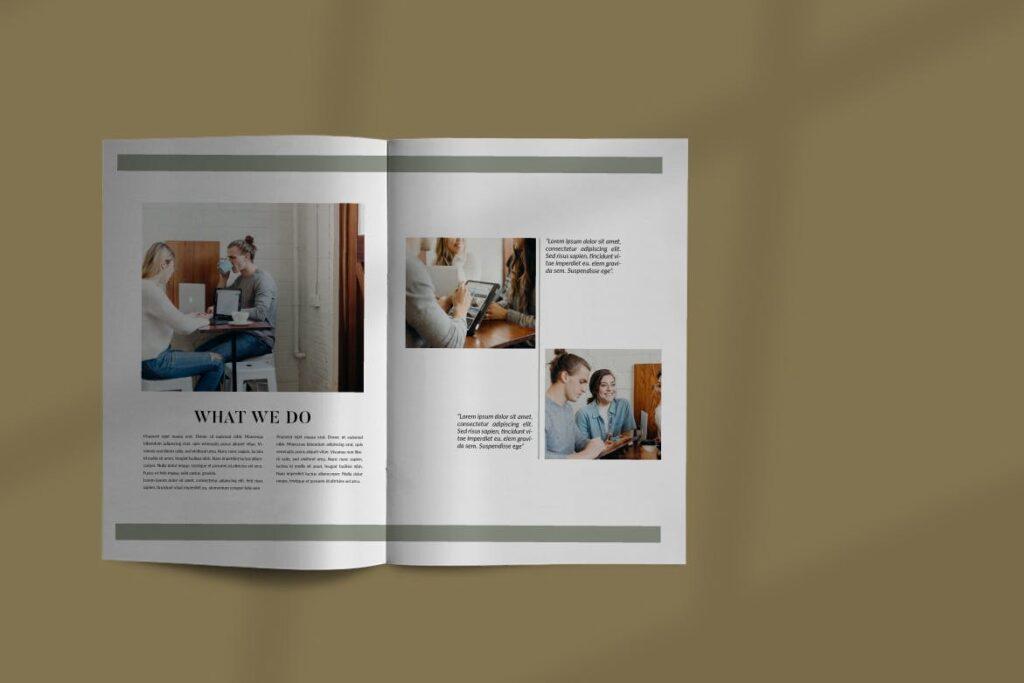 投资组合小册子模板设计师工作室内设计目录画册模板IMPALA Brochure Template插图(3)