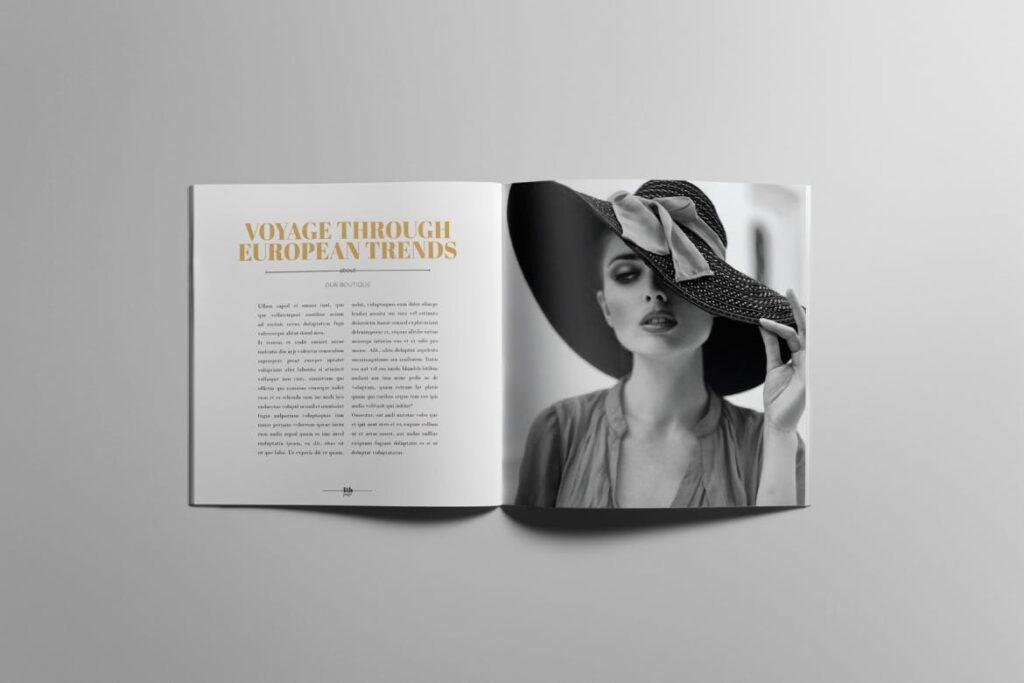 香水珠宝产品简介/目录画册模板Lookbook Product Catalog插图(3)