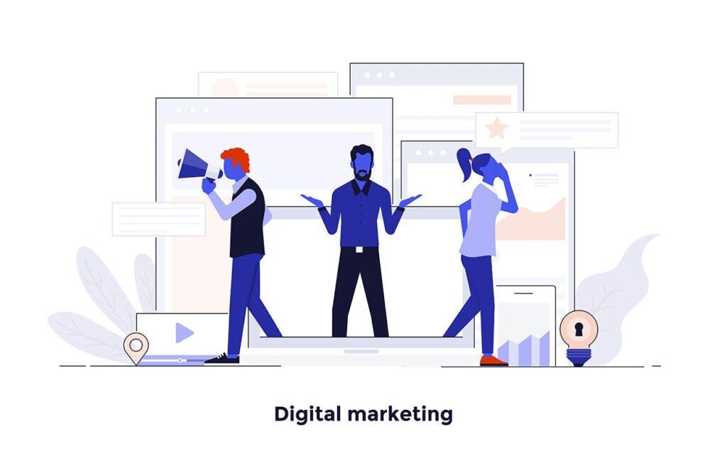 现代扁平化的设计理念和经营理念网站插图Modern Flat Design People And Business Concepts Uz9yxc插图(3)