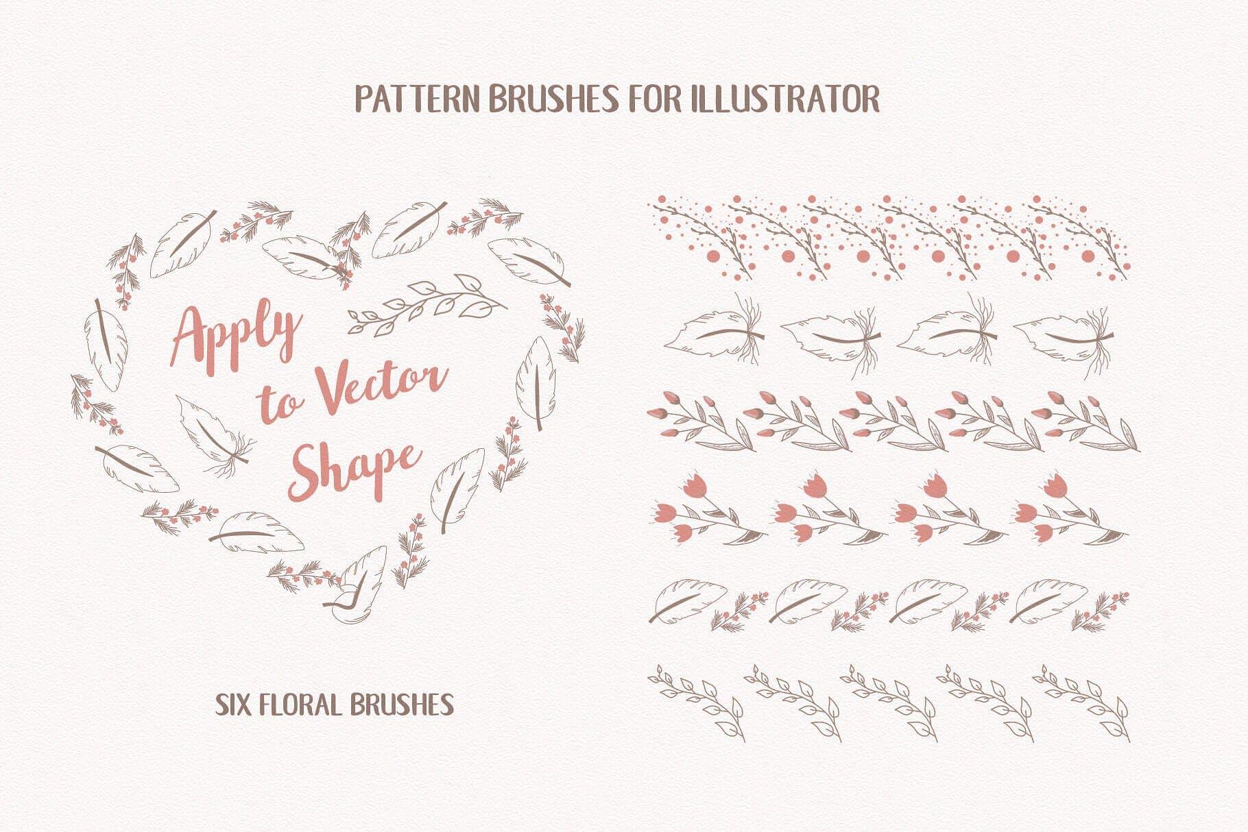喜悦和甜蜜主题元素图形类别素材合集Mom I'm in Love Vector Set插图(3)