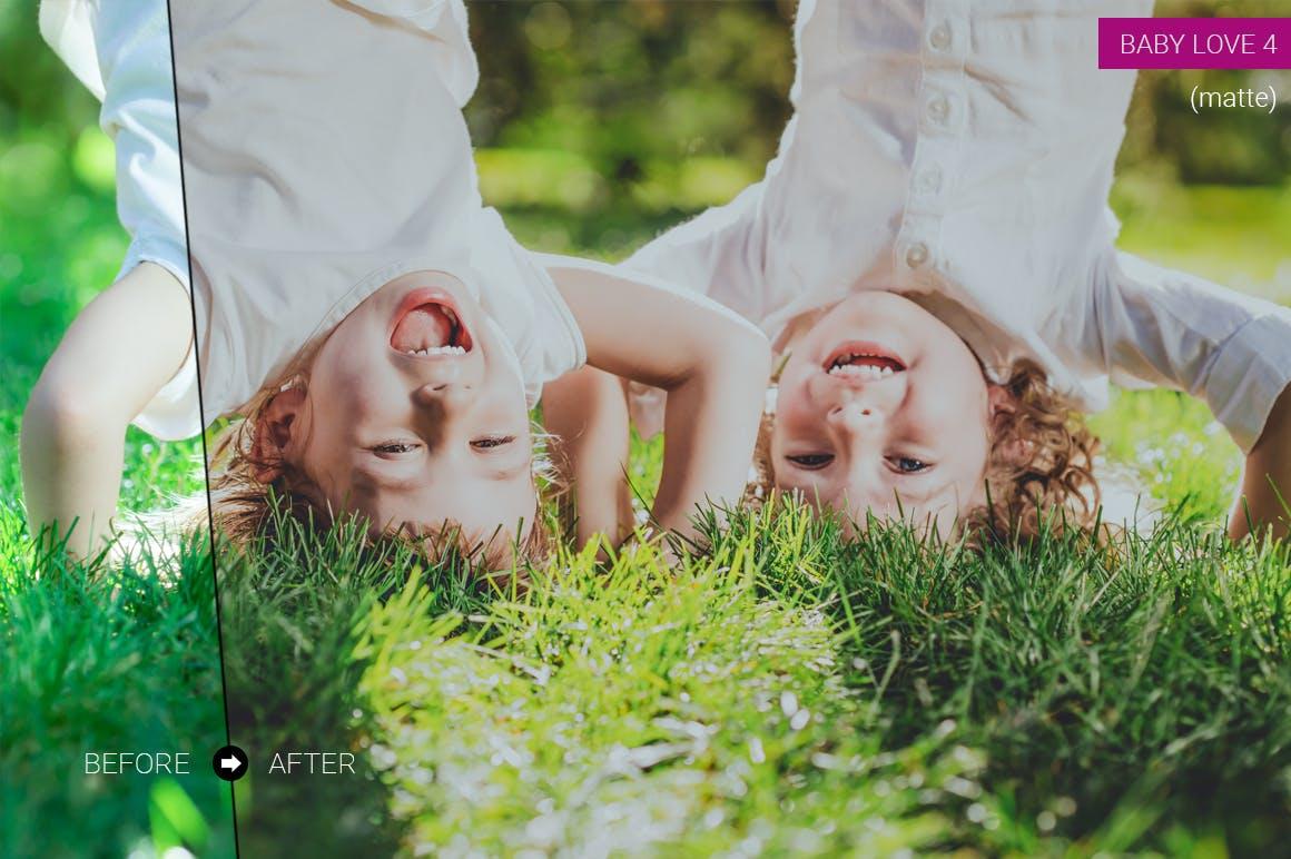 新生婴儿摄影调色系列照片效果处理LR预设Newborn Lightroom Presets插图(2)