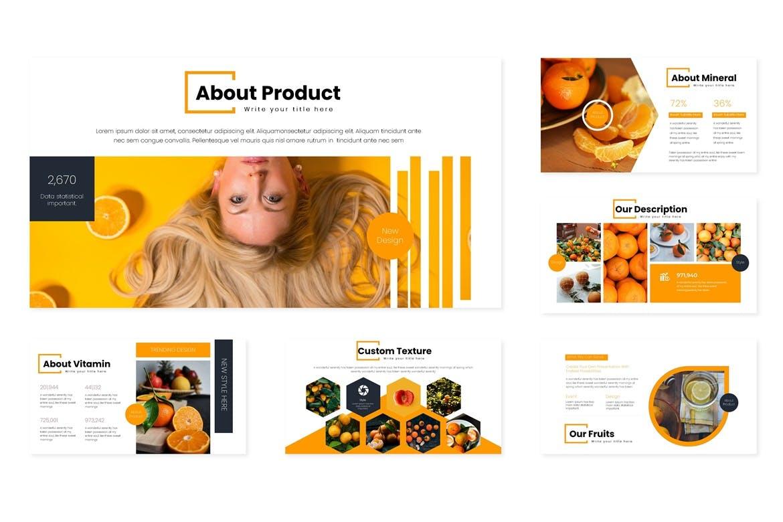 多用途演示模板宣讲主题演讲PPT幻灯片模板Oranges Google Slides Template插图(3)