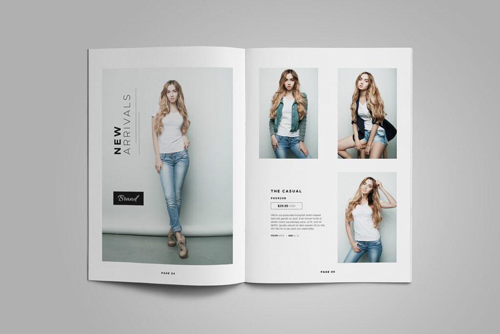 时尚服装/产品目录画册模板Product Catalog Template插图(3)
