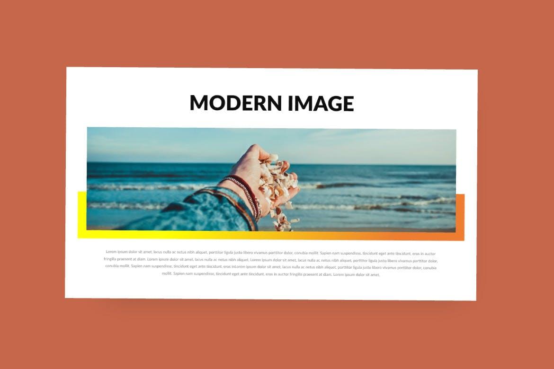 旅游主题品牌宣传PPT幻灯片模板Scret Google Slide插图(3)