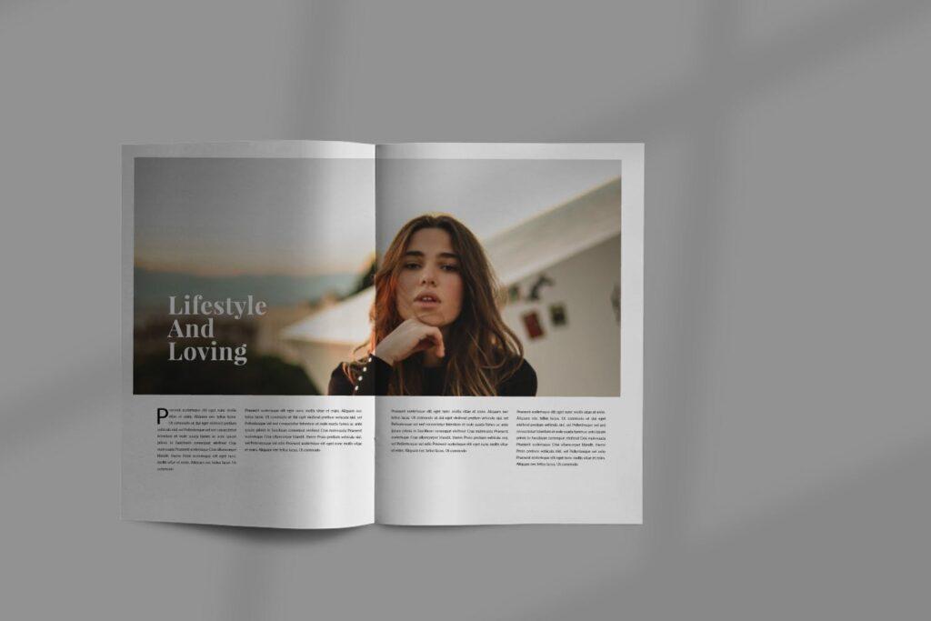 设计师工作室内设计目录/产品目录画册模板Styling Fashioned Brochure插图(3)