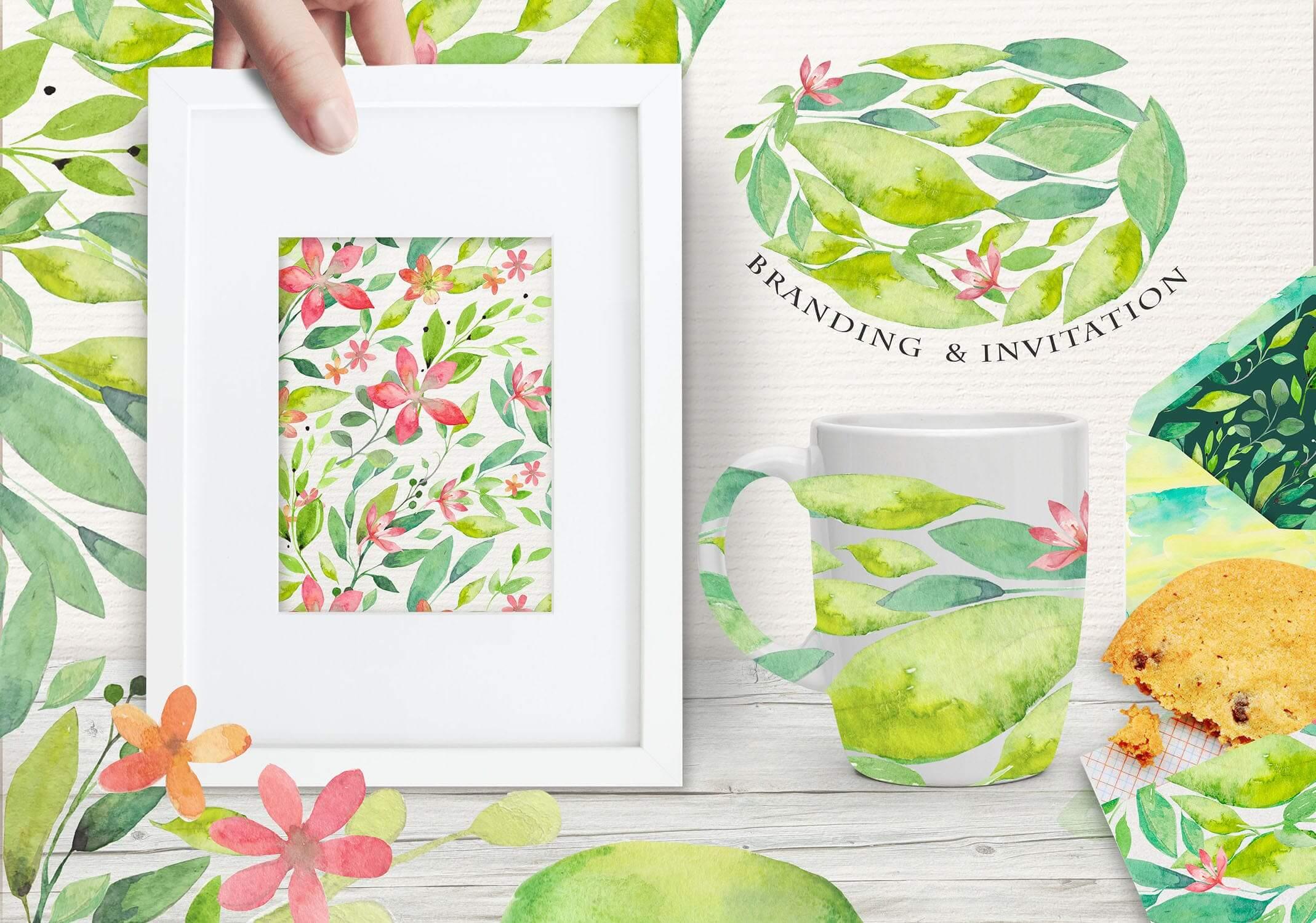 夏季素材鲜花素材装饰排列合集THE SUMMER BREEZE插图(4)
