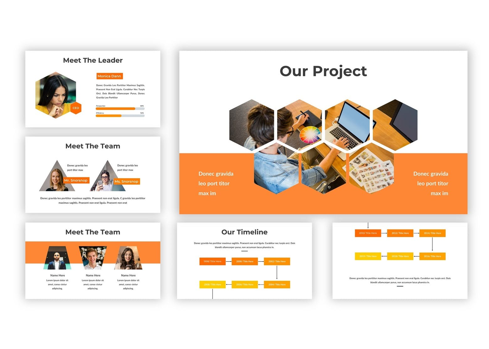 市场策划提案PPT幻灯片模板下载Worksian Google Slides Template插图(3)