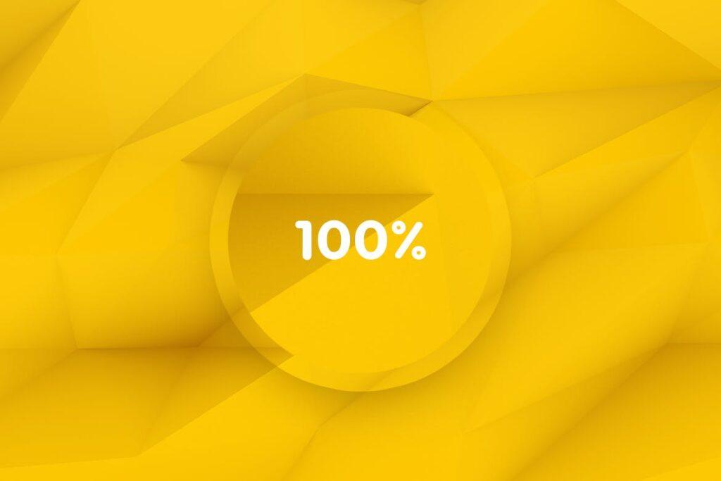 抽象简约几何构成背景高清图片下载Yellow Polygon Backgrounds插图(3)