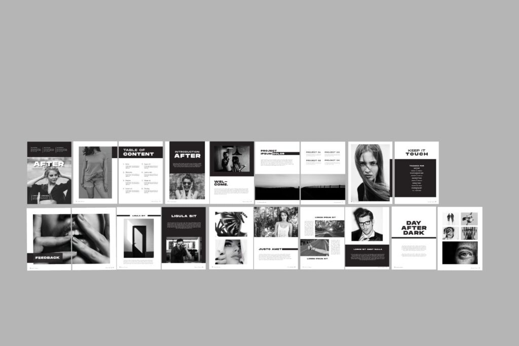 设计师工作/室内设计目录/产品目录/产品画册模板XL8RAPZ插图(4)