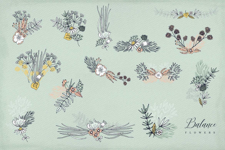 平衡花绿植品牌素材模板下载Balance Flowers插图(4)