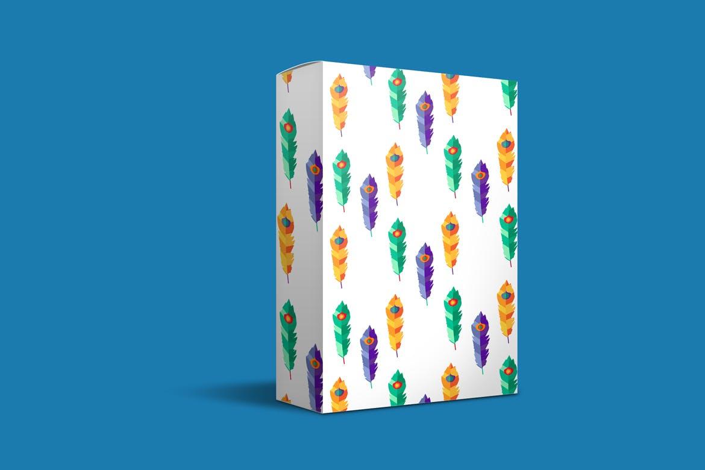 明亮的波西米亚图案插图抱枕装饰图案素材Bright Boho Patterns插图(2)
