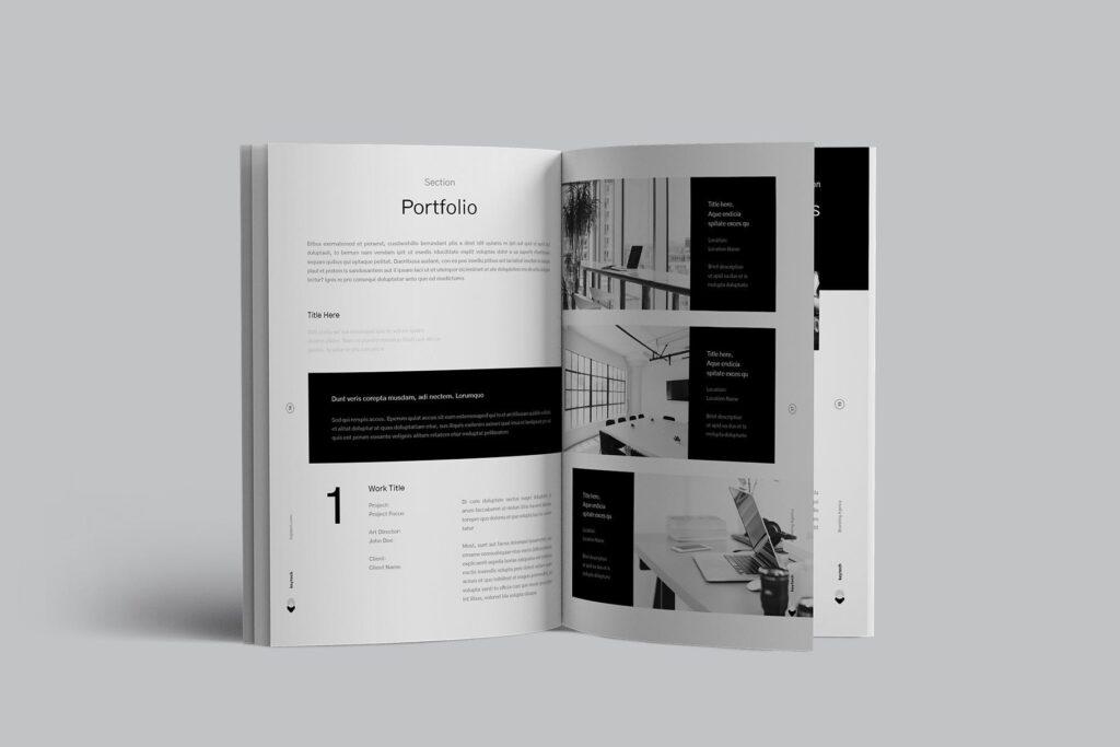 企业简介/产品介绍画册杂志模板素材Company Profile插图(4)