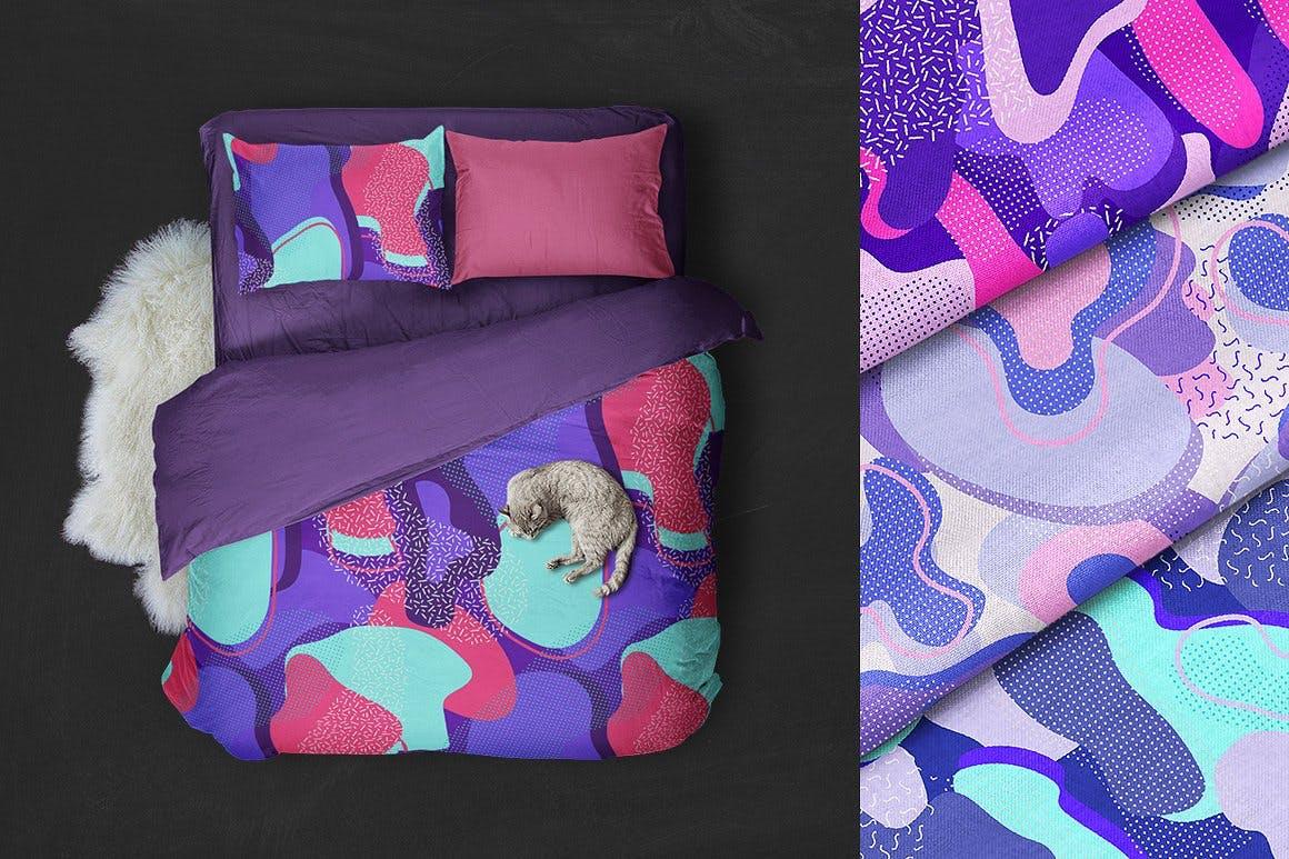 时尚化妆品装饰图案素材下载Cosmic Patterns Collection插图(4)