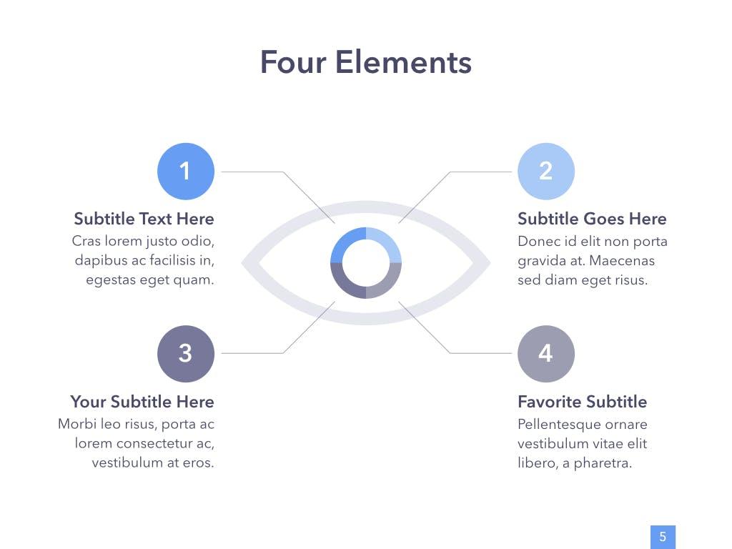 眼睛健康演讲活动PPT幻灯片模板Eye Health Keynote Template插图(4)