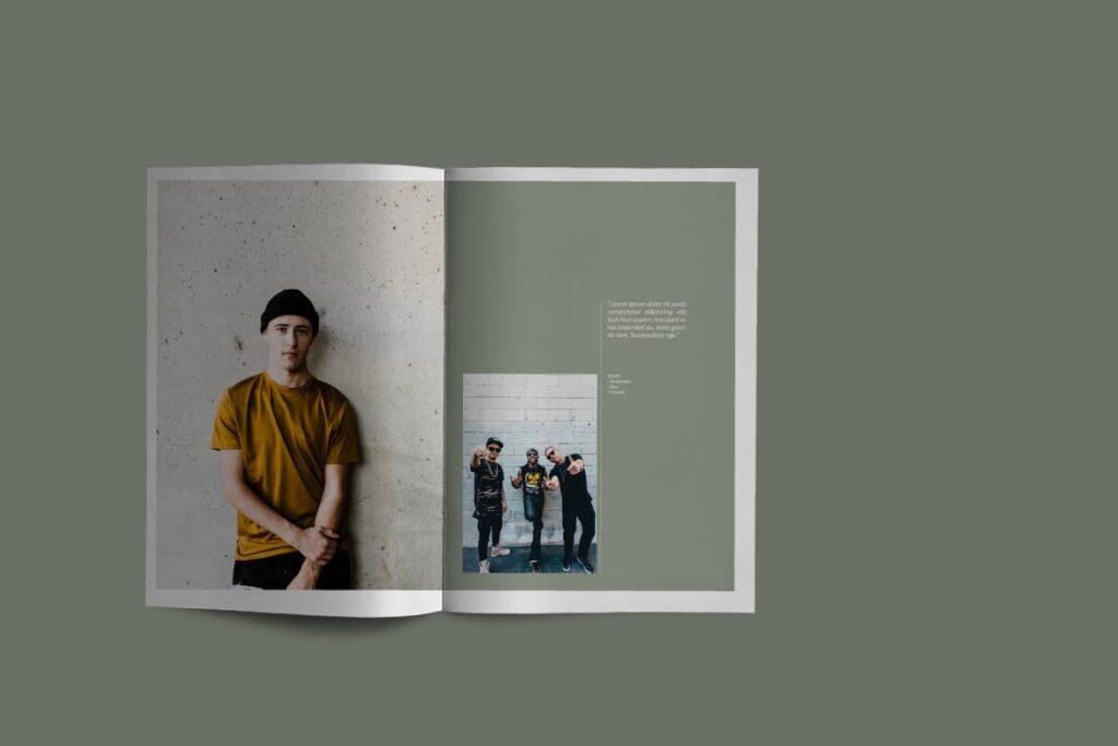 投资组合小册子模板设计师工作室内设计目录画册模板IMPALA Brochure Template插图(4)