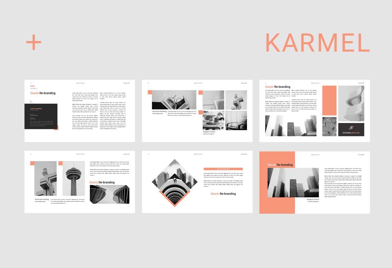 跨国企业品牌主题介绍幻灯片模板Karmel Keynote插图(4)
