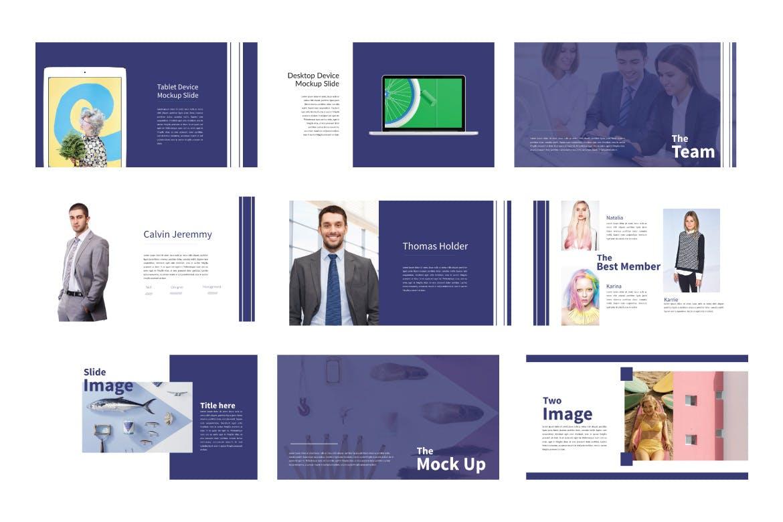 创意多用途的基调设计幻灯片模板Lifestyle Keynote Template插图(4)