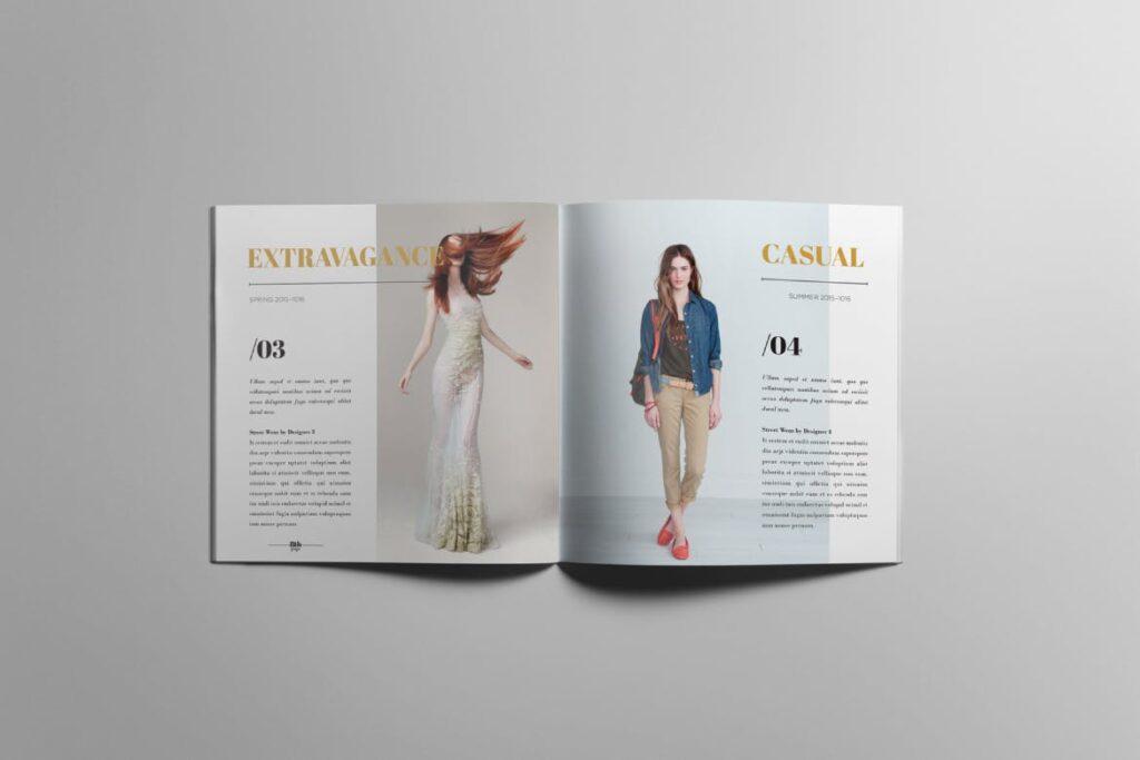 香水珠宝产品简介/目录画册模板Lookbook Product Catalog插图(4)