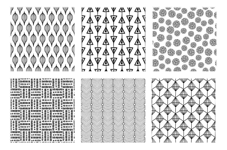 食品品牌包装装饰图案纹理素材模板MALINA 36 Seamless Pattern插图(4)