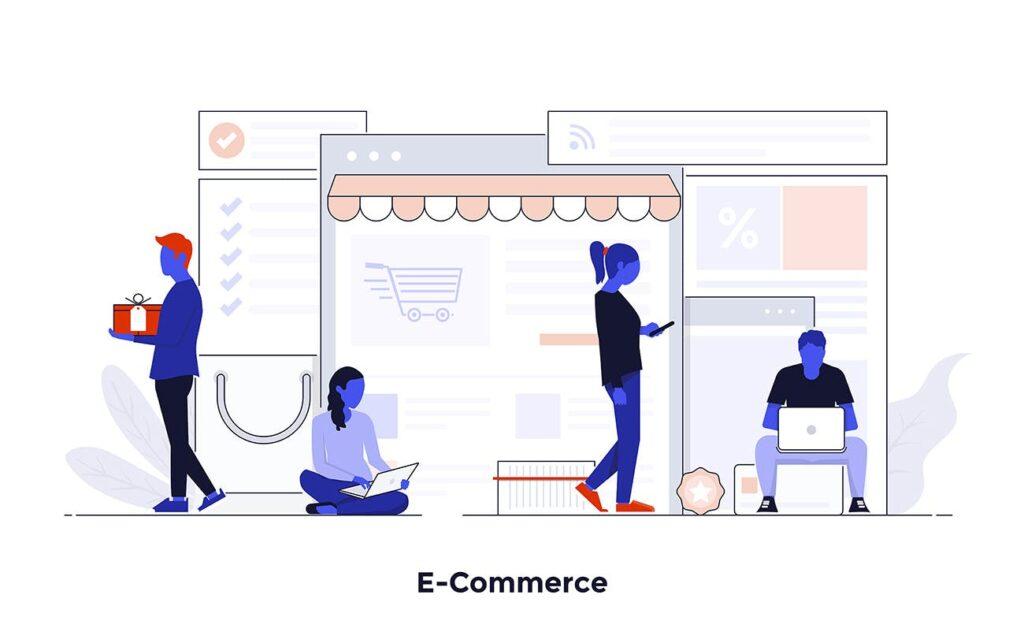 现代扁平化的设计理念和经营理念网站插图Modern Flat Design People And Business Concepts Uz9yxc插图(4)