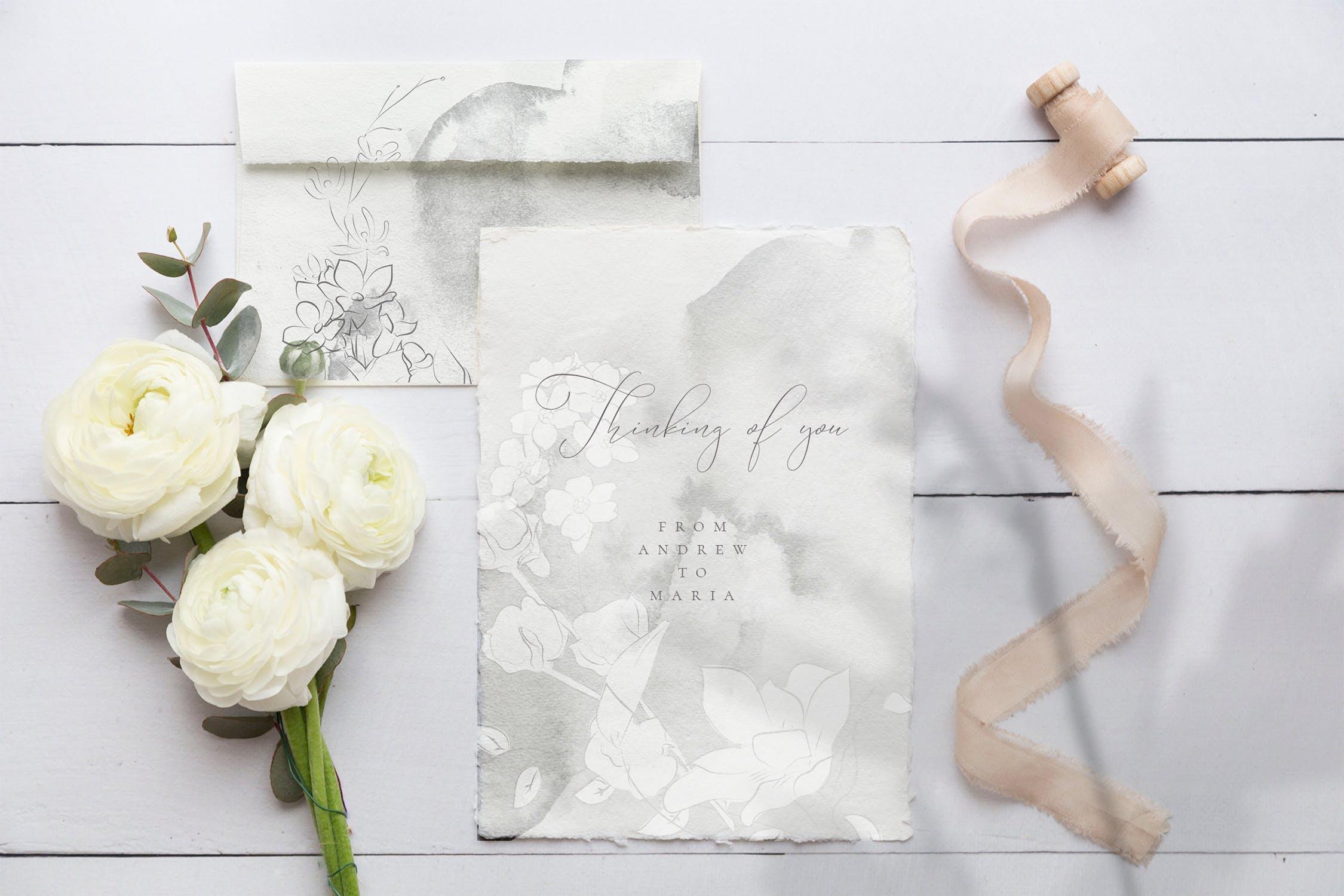 微妙优雅画花卉和图案素材下载Subtle Beauty Graphic Collection插图(2)