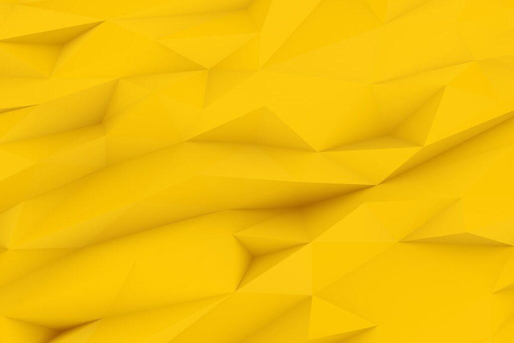 抽象简约几何构成背景高清图片下载Yellow Polygon Backgrounds插图(4)