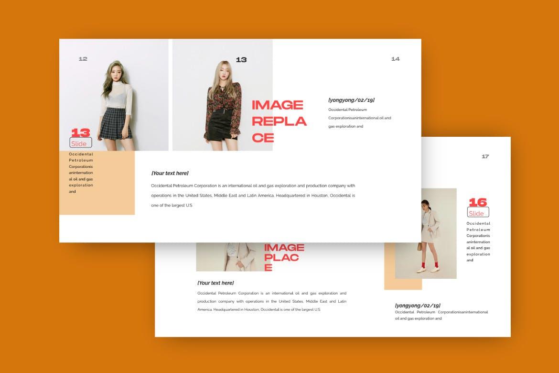 时尚潮流品牌提案PPT幻灯片模板Yong Google Slide插图(3)