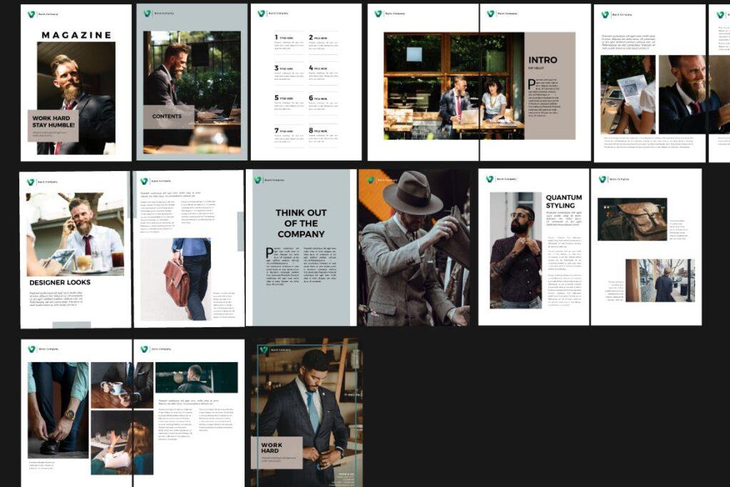 工作室产品介绍画册模板BURST Brochure Corporate插图(5)