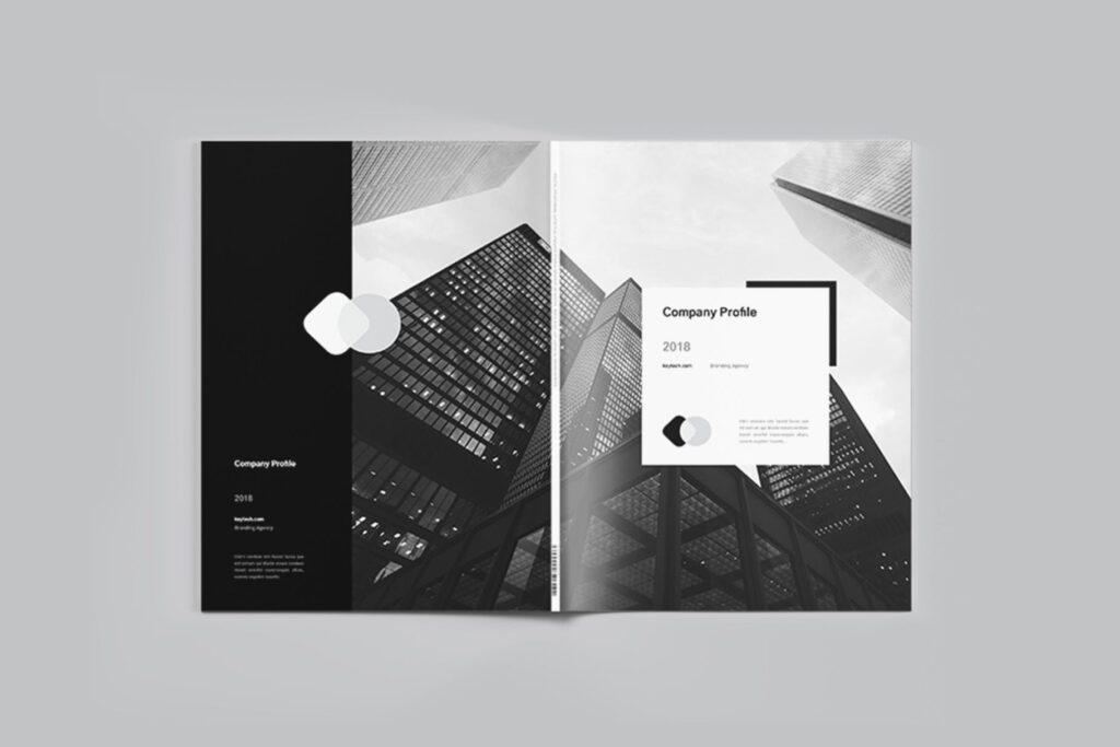 企业简介/产品介绍画册杂志模板素材Company Profile插图(5)