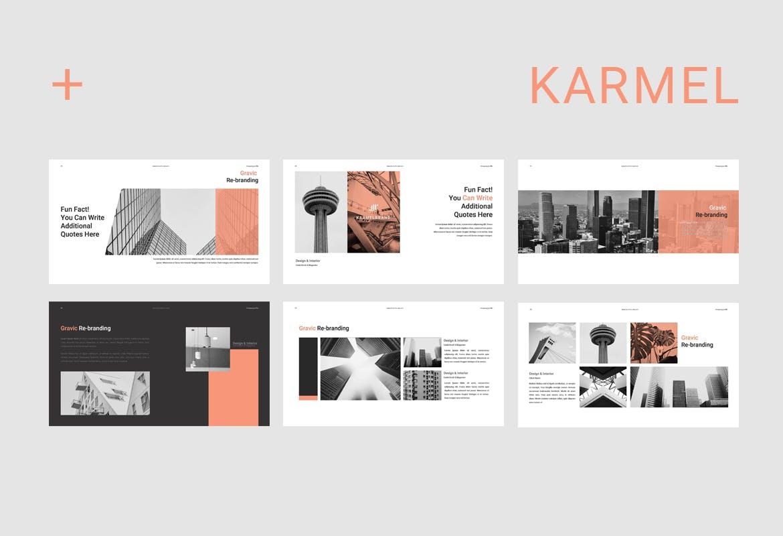 跨国企业品牌主题介绍幻灯片模板Karmel Keynote插图(5)