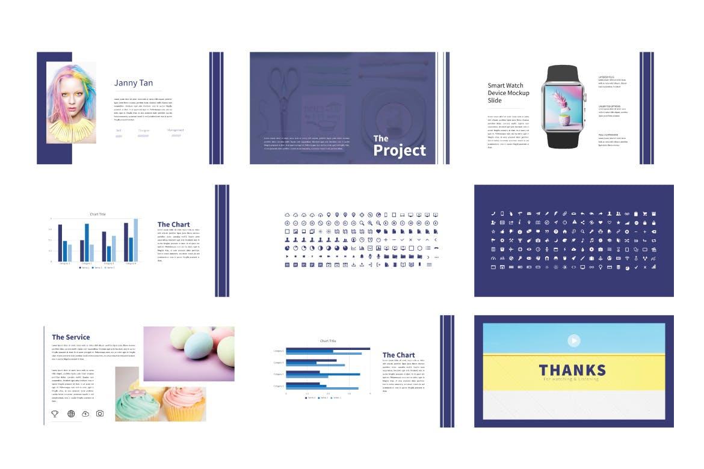 创意多用途的基调设计幻灯片模板Lifestyle Keynote Template插图(5)