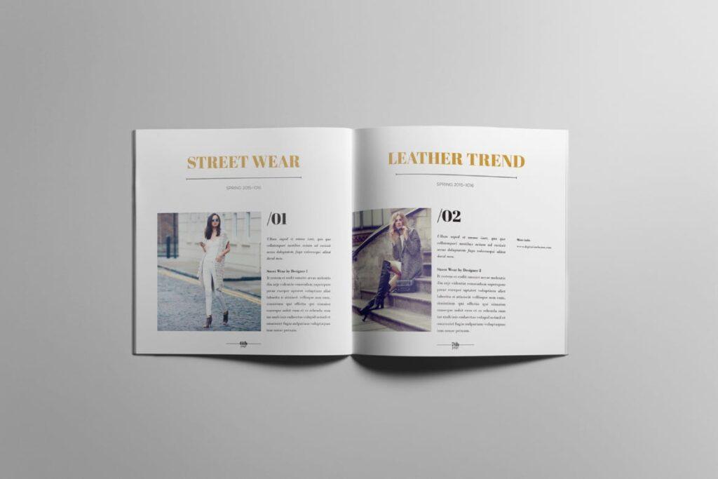 香水珠宝产品简介/目录画册模板Lookbook Product Catalog插图(5)