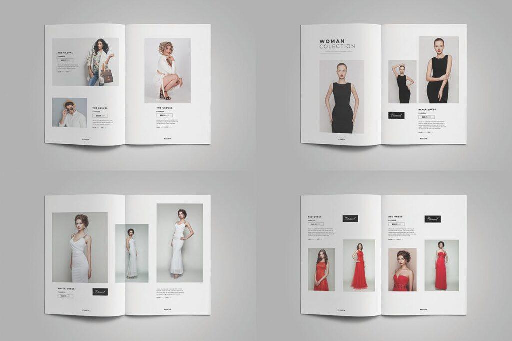 时尚服装/产品目录画册模板Product Catalog Template插图(5)