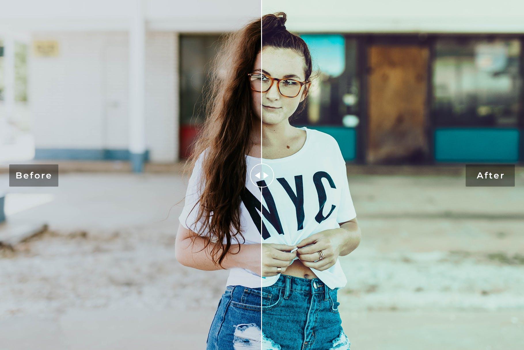 复古系列摄影肖像摄影后期调色滤镜LR预设Recreate Hipster Pro Lightroom Presets插图(4)