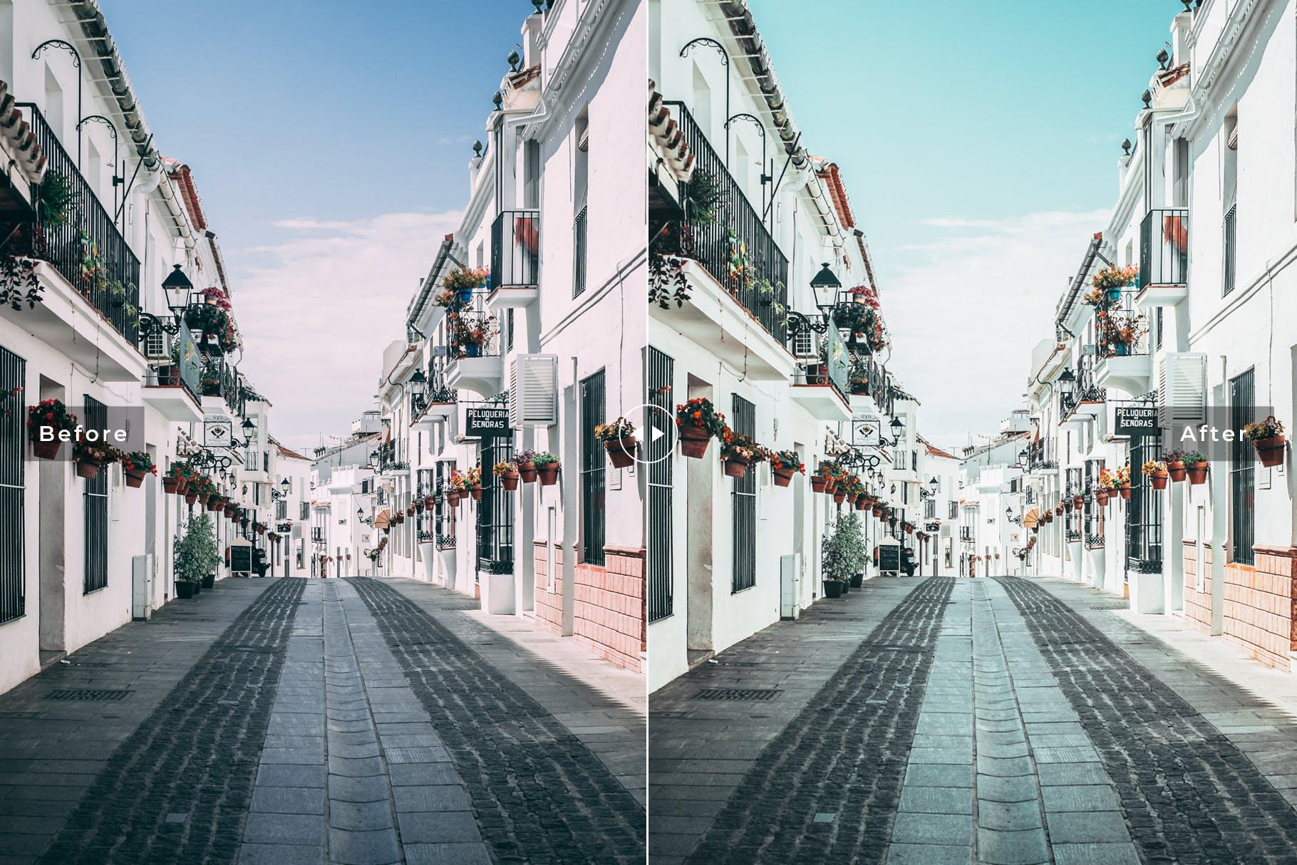 温暖的色调柔和色调照片效果处理LR预设Spain Mobile Desktop Lightroom Presets插图(4)