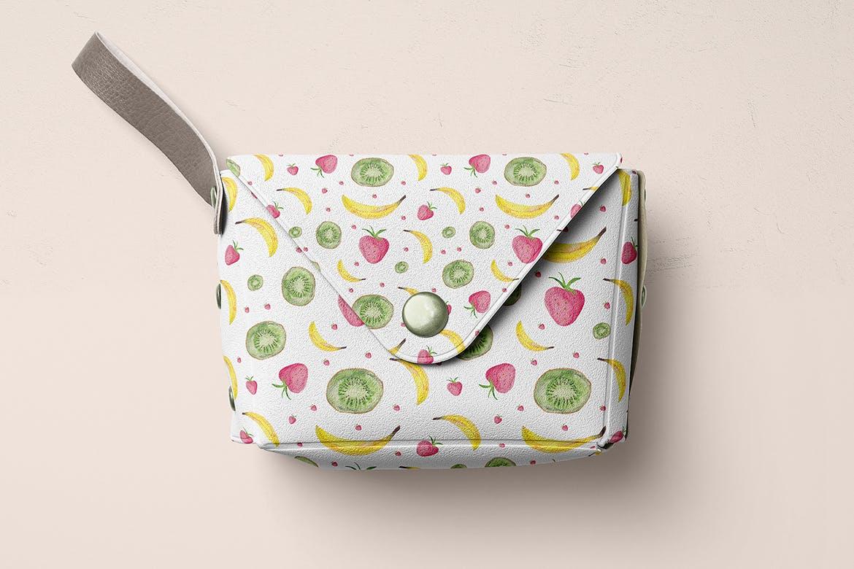 20个手绘水彩水果图案纹理花纹手机壳装饰图案纹理Watercolor Fruit Patterns插图(5)