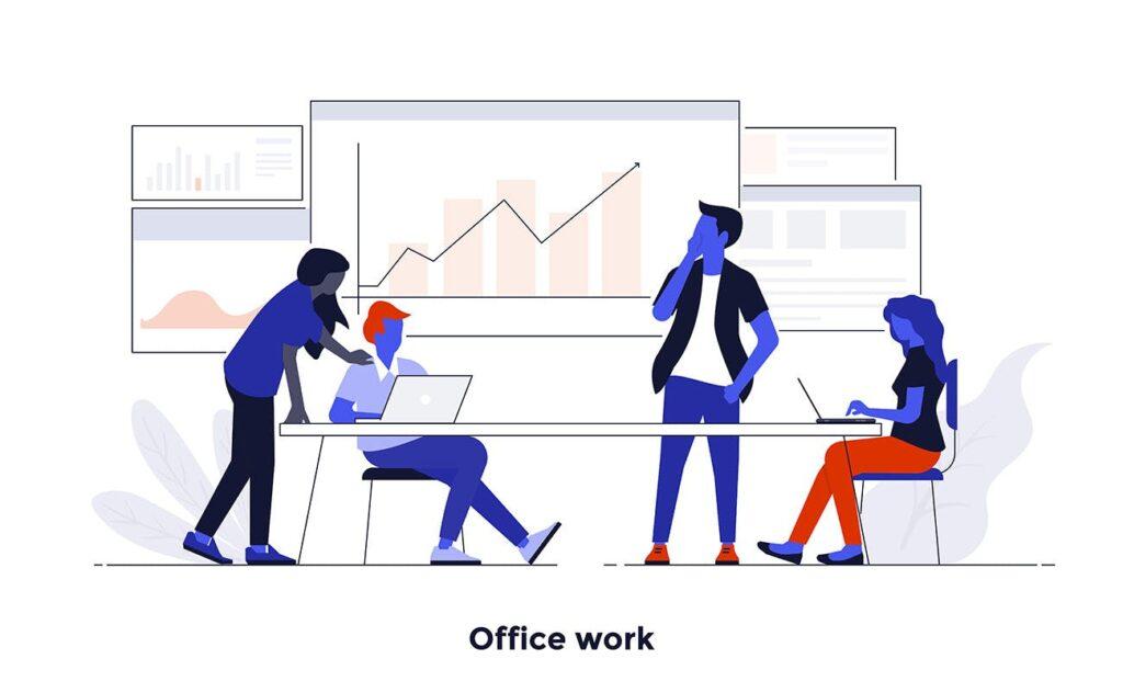 现代扁平化的设计理念和经营理念网站插图Modern Flat Design People And Business Concepts Uz9yxc插图(6)